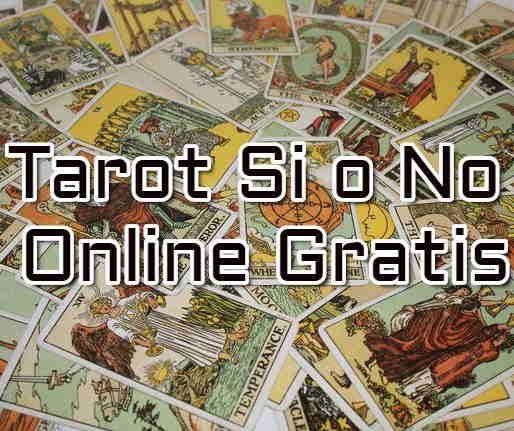 Tarot si o no online gratis