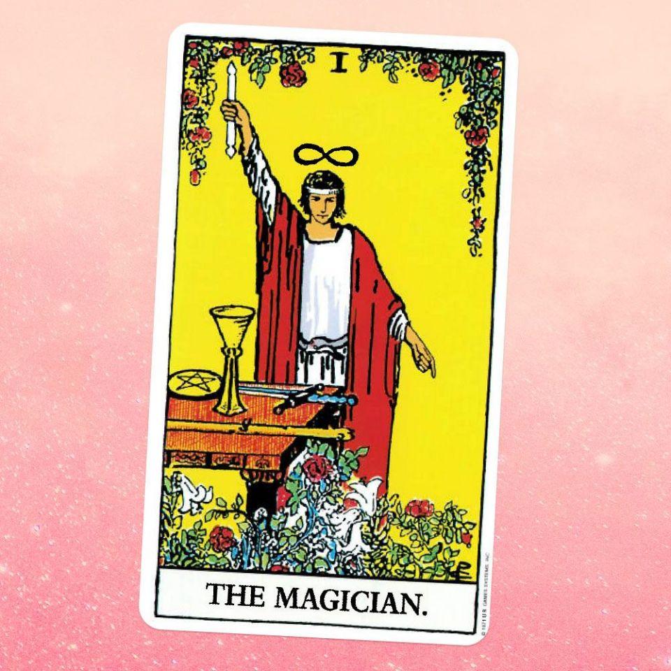 El Mago o The Magician en el Tarot Rider Waite