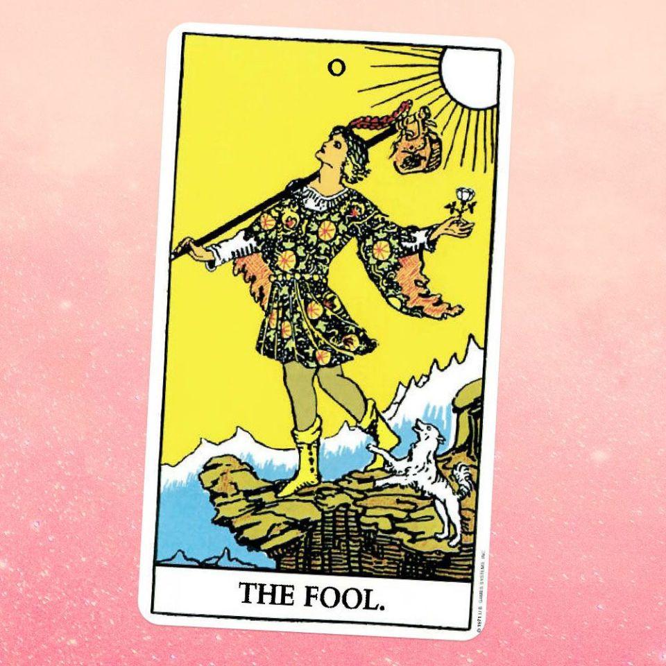 El Loco o The Fool en el Tarot Rider Waite